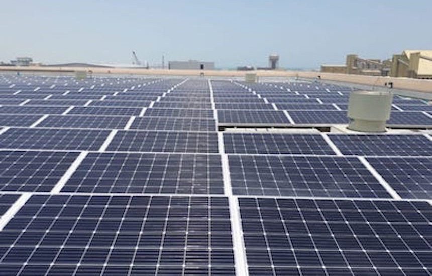 First and Largest Private Solar Project in Bahrain