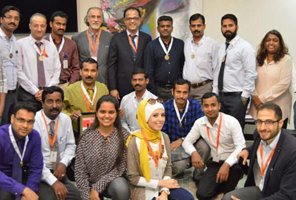 GCT Participates in Bahrain Marathon Relay 2015